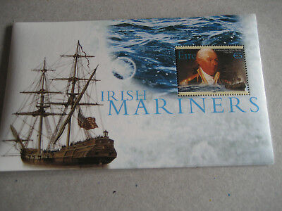 Eire (Ireland)   2003 Irish Mariners Commodore John Barry  1745-1803  Souvenir S