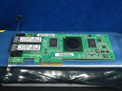 Qlogic QLE2462 PX2510401 KC184 4Gb Dual Port PCIe Fibre FC HBA Network Card