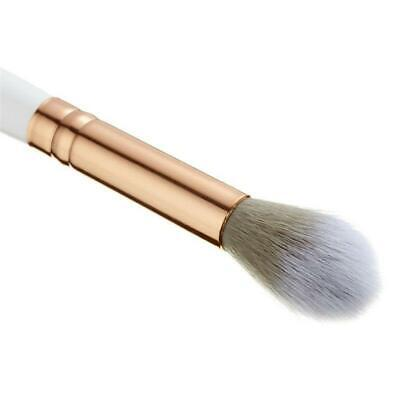 B08 Tapered Blending Makeup brush Eye shadow pencil Shading cosmetic tool White