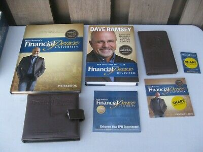 Dave Ramsey's Financial Peace University 15 CD SET + Book + Preview + Much More