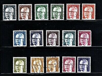 Hick Girl Stamp-  Beautiful Used German Stamps Of Heinemann  1970 Issue   M1049