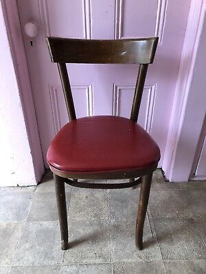 Vintage A&B MFG. Corp. Antique Wood Chair 1985