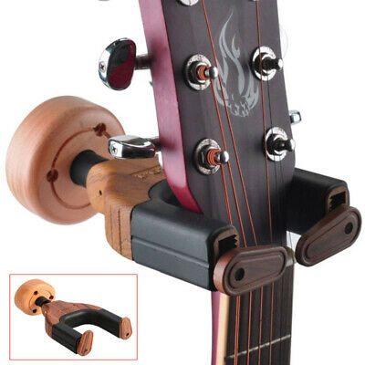 Guitar Wall Hanger Holder Stand Violin Rack Hook Mount For Musical Instrument