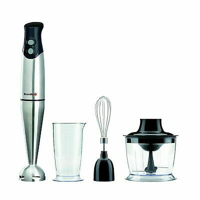Breville VHB014 3-in-1 Hand Blender Food Mixer Set Processor Chopper Whisk 400W