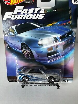 2019 Hot Wheels Fast & Furious~Nissan Skyline GT-R Real Riders