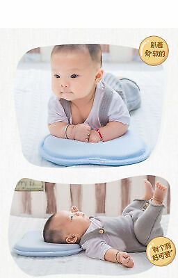 Infant Head Shaping Memory Foam Pillow Positioner Cushion Prevent Flat Head