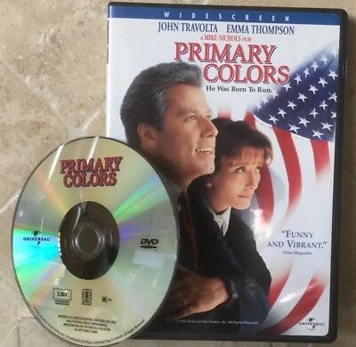 👀L@@K❗️Primary Colors (1998, Widescreen) DISC ONLY ~ MINT & FAST SHIP❗️