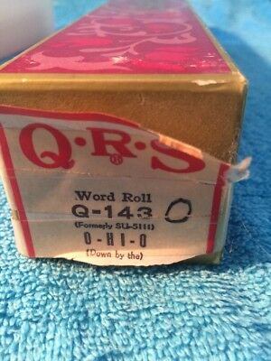 QRS Player Piano Roll - Q-143 - O-hI-O
