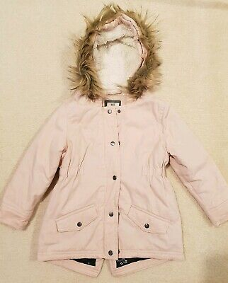 COTTON ON Girls Pink Lined Jacket Anorak Size 3 - 4