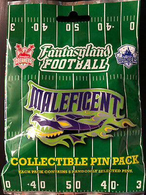 Disney Collectible Pin Pack FANTASYLAND FOOT Mystery Bag 5 Pins Sealed in Canada