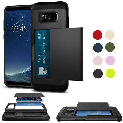 For Samsung Galaxy S8 Plus ShockProof PC Hard Heavy Duty Rubber Tough Case Cover