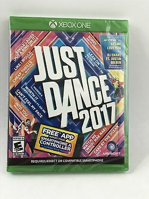 Xbox One Just Dance 2017 BRAND NEW FACTORY SEALED