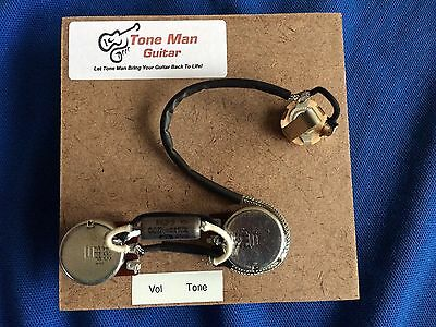 Guitar Upgrade Wiring Harness Fits Single Humbucker 2 Control Style Guitar