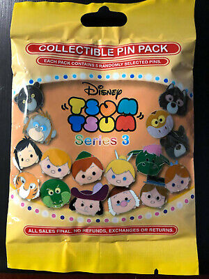 Disney Collectible Pin Pack TSUM TSUM SERIES3 Mystery Bag 5 Pin Sealed in Canada