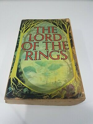 The Lord Of The Rings 3 in 1 edition (J.R.R. Tolkien 1970s)