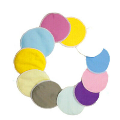 Organic Bamboo Reusable washable Breast Pads for Breastfeeding Nursing Pads 4Pcs