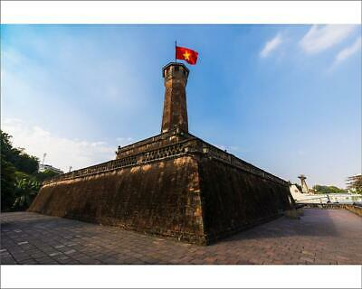 "18816129 10""x8"" (25x20cm) Print of The Flag Tower of Hanoi"