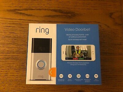 NEW!!! Ring Video Doorbell With Chime