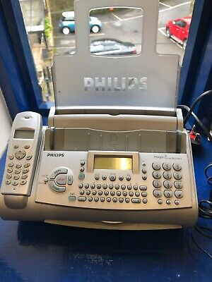 Philips Magic 3 Dect Fax Machine And Cordless Phone