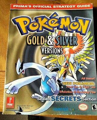 Pokemon Gold & Silver Strategy Guide Nintendo Gameboy 176 pages and insert