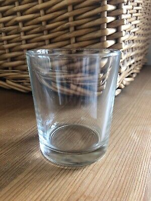10 Arcoroc Heat Resistant Empty Glass Jars Candlemaking Drink Glasses 27cl