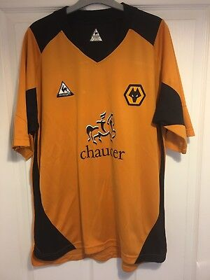 2004/2006 Wolverhampton Wanderers home football shirt LCS Wolves large mens