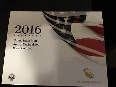 2016 Annual Uncirculated Dollar Set