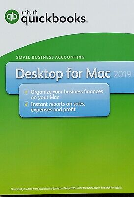 INTUIT QUICKBOOKS FOR Mac 2019 Brand New!