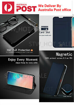 For Samsung S10e/S10/S10 Plus DZGOGO / Wallet Leather Flip Card Stand Case Cover