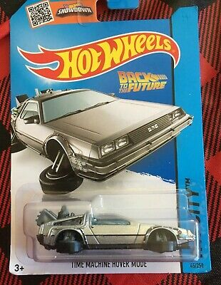 Hot Wheels Back To The Future Time Machine (1985 DeLorean DMC-12)