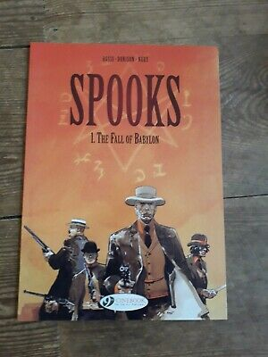 Spooks: Vol 1 - The Fall of Babylon Paperback (2012)  Cinebook - Good Condition