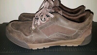 latest style shop for official discount sale MERRELL MENS SHOES Sz 10 Espresso Brown Suede Leather Shoes Select Grip