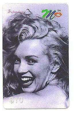 Marilyn Monroe ACMI Commeorative Phone Card Saturday