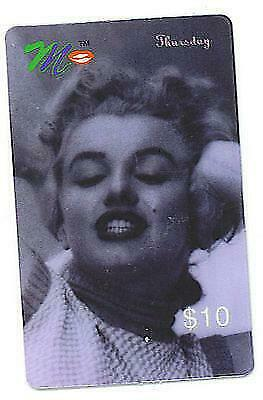Marilyn Monroe ACMI Thursday Commeorative Phone Card