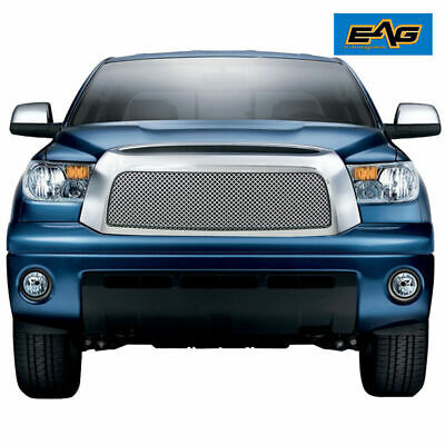 Chrome Stainless Steel Wire Mesh Grille With ABS Shell for 07-09 Toyota Tundra