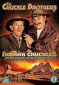 Chuckle Brothers - Indiana Chuckle And The Kingdom Of The Mythical Sulk (DVD,...