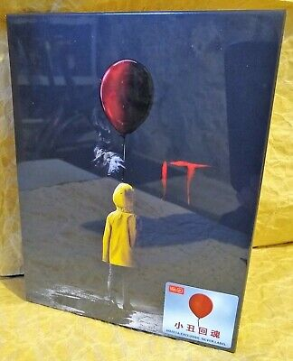 IT (2017) Bluray HDZeta Exclusive Limited STEELBOOK Full Slip Edition NO DISCS