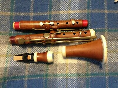 19th Century Colley and Co. Bb Boxwood Clarinet, recently refurbished