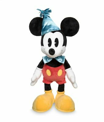"""Disney Parks 2019 Mickey Mouse 90th Birthday 24"""" Plush Toy Doll New With Tags"""