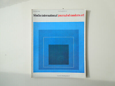 Vintage Studio International Art & Design Magazine September 1968