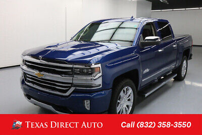 2016 Chevrolet Silverado 1500 High Country Texas Direct Auto 2016 High Country Used 5.3L V8 16V Automatic RWD Pickup Truck