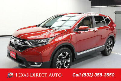 2017 Honda CR-V Touring Texas Direct Auto 2017 Touring Used Turbo 1.5L I4 16V Automatic FWD SUV