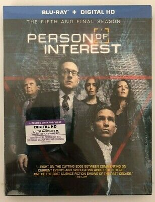 Person Of Interest: The Complete Fifth And Final Season (Blu-ray Disc, 2016)