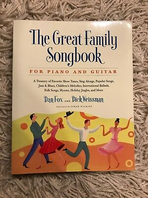 The Great Family Songbook — Folk Music Piano Book — NEW