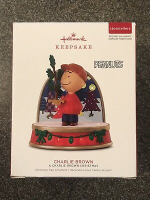 2018 Hallmark PEANUTS STORYTELLERS - CHARLIE BROWN Ornament - NEW!