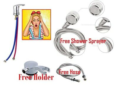 Mixer Hairdressing Salon Mixer Tap 50 cm +salon shower spray + holder