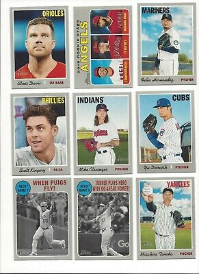2019 TOPPS HERITAGE #'s 1-250  ( ROOKIE RC's, sTARS ) - WHO DO YOU NEED!!