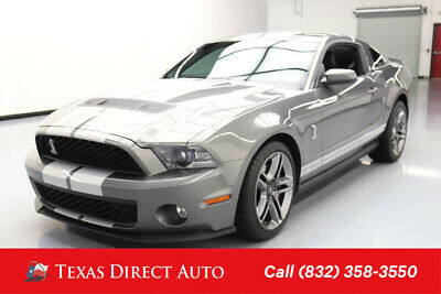 2011 Ford Mustang GT500 Texas Direct Auto 2011 GT500 Used 5.4L V8 32V Manual RWD Coupe Premium