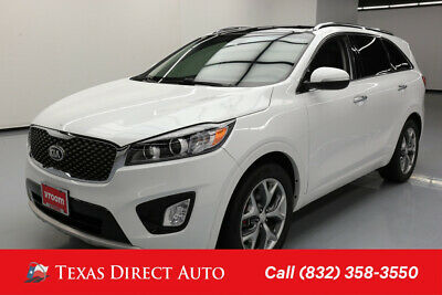 2016 KIA Sorento SX Texas Direct Auto 2016 SX Used 3.3L V6 24V Automatic FWD SUV