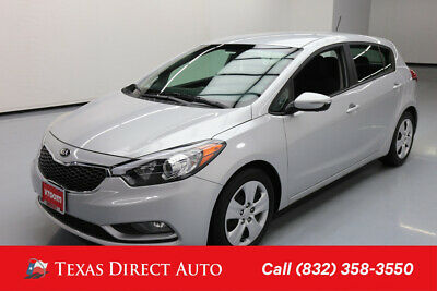 2016 KIA Forte LX Texas Direct Auto 2016 LX Used 2L I4 16V Automatic FWD Hatchback